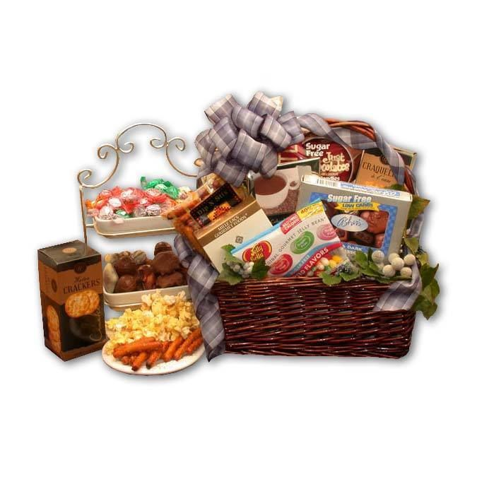 Drop simply sugar free gift basket products pinterest free heres a hard to find gift for the diabetic or for the dieter the simply sugar free gift basket brings goodies and treats for the person who must remain negle Image collections