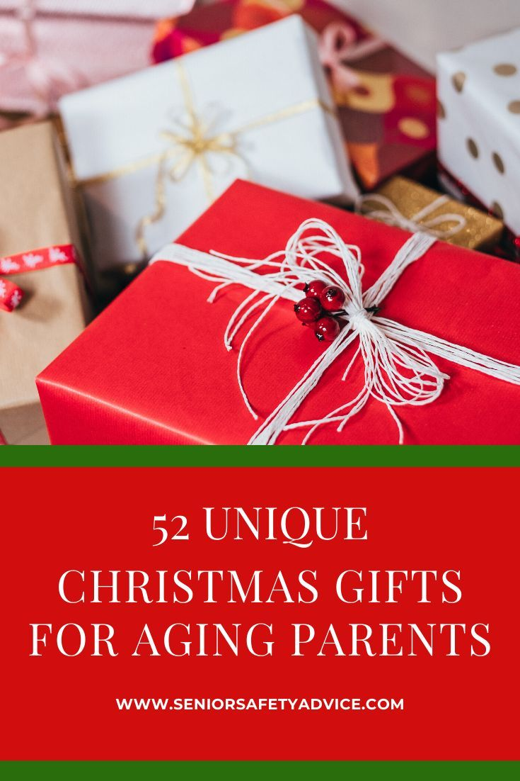 A list of 53 gift ideas for elderly parents and senior