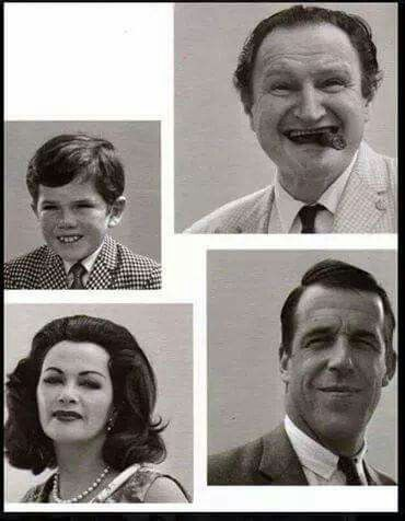 The Munsters without make-up.
