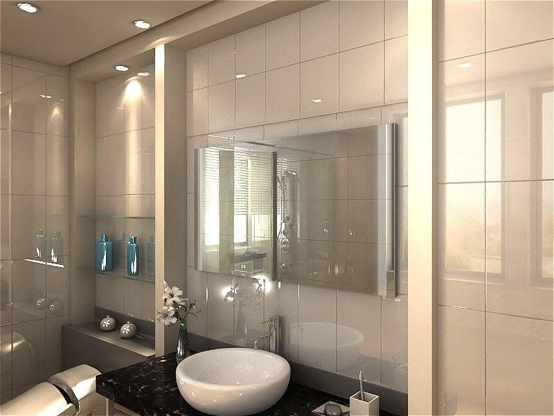 Badspiegel mit LED Beleuchtung - Invidia waschtischplatte