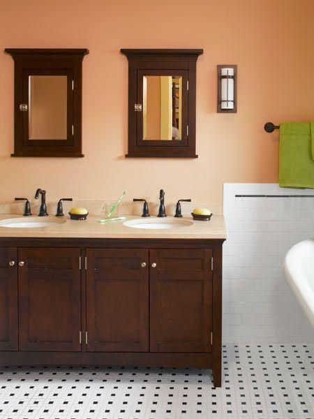 Cleaning Up A Classic Craftsman Craftsman Bathroom Craftsman
