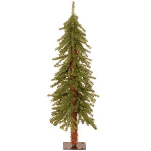 4ft Merry Christmas National Tree Artificial Cedar Slim In Outdoor