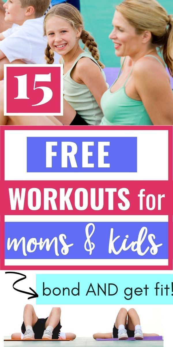 Are you struggling to exercise yourself AND get your kid moving? Here are 15 easy workouts you can d...