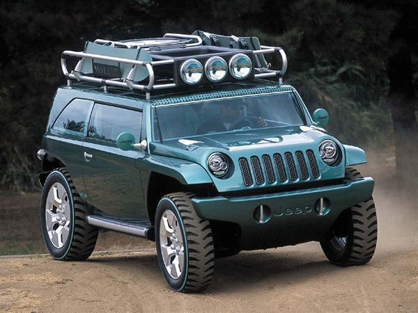 2005 Jeep Compass Concept Jeep Gladiator Concept Auto Shows Car
