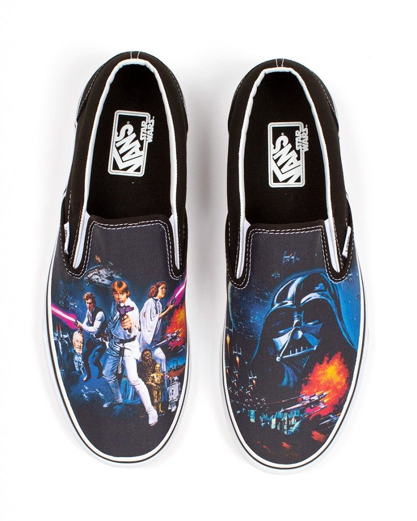 dccac00856ced4 Vans X Star Wars special edition with poster artwork from Star Wars Episode  IV  A New Hope