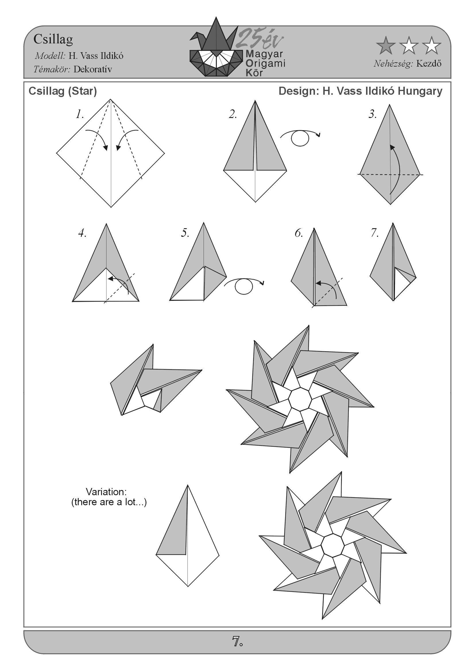 Folding Origami Box Diagram 2004 Jeep Grand Cherokee Laredo Radio Wiring Papírvarázslat Képgaléria Diagrams Rajzok