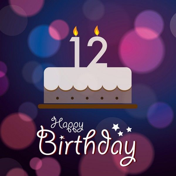 12th birthday Happy 12th Birthday   Birthday Wishes, Images, Messages, Greetings  12th birthday