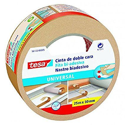 Tesa Uk Universal Double Sided Adhesive Tape For Fixing Carpets
