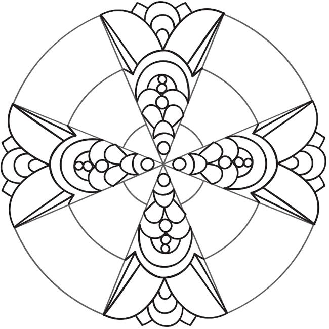 Welcome To Dover Publications Mandalas Para Colorear Más