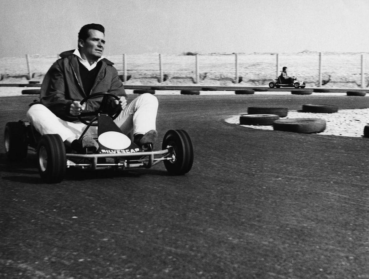 Throwback Thursday Cool '60s People on GoKarts Go kart