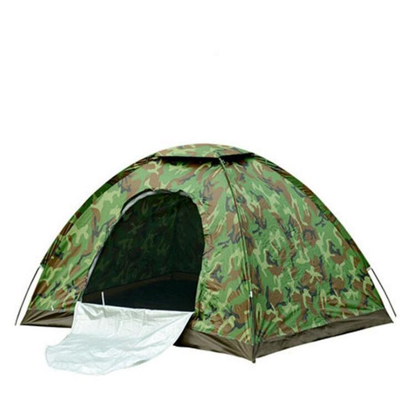 Cheap tent pins Buy Quality tent automatic directly from China tent construction Suppliers 4 Person Camouflage C&ing Tent Outdoor C& Folding Hiking ...  sc 1 st  Pinterest & Tent - Camouflage - 4 Person - Single Layer - 200 X 200 X 130 CM ...