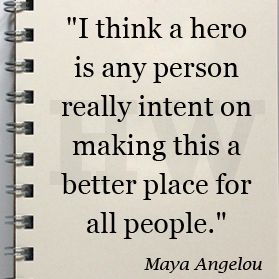 Hero Quotes Cool Maya Angelou #quote  Beautiful Inspiration  Pinterest  Maya . Inspiration