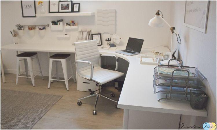 Ikea linnmon table top 78 bureau dangle pinterest