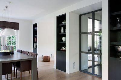 Mooie inbouwkast en ensuite deuren