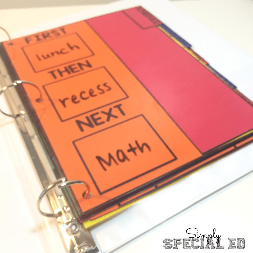 Simple Success Student Binder
