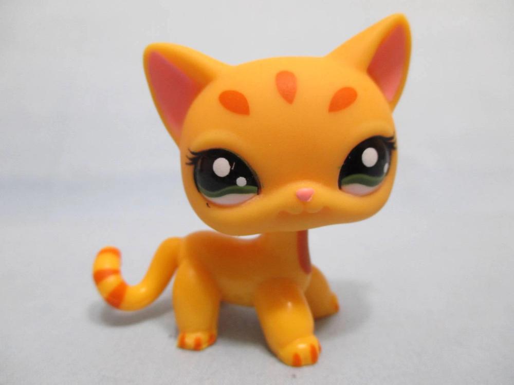 Littlest Pet Shop Cat Shorthair Orange Spot 1377 And Free Accessory Au Lpsqueen Com In 2020 Littlest Pet Shop Little Pets Pet Shop