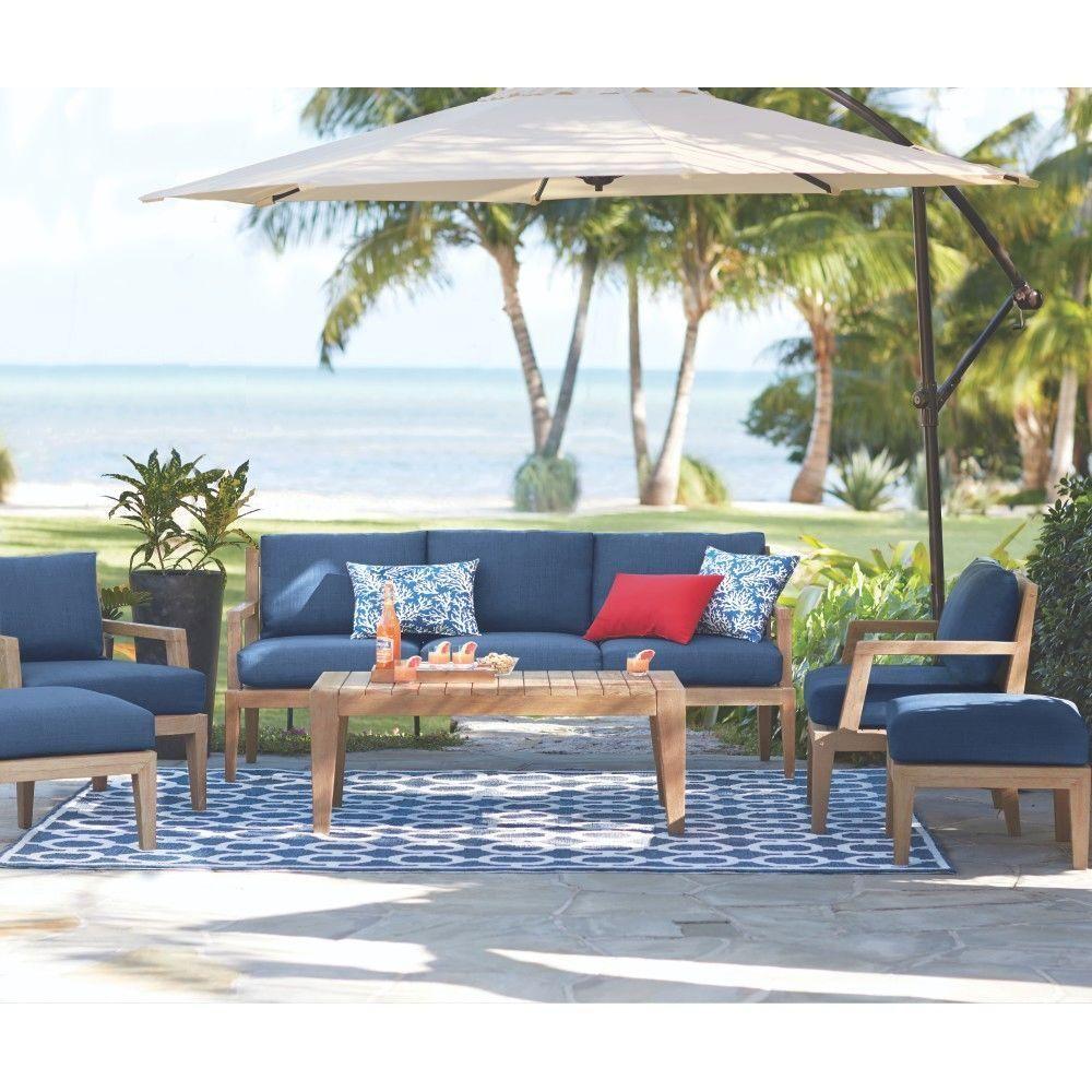 225 & Home Decorators Collection Bermuda 6-Piece All-Weather Eucalyptus ...
