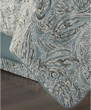 Photo of J Queen New York Giovani 4-Pc. King Comforter Set & Reviews – Bedding Collections – Bed & Bath – Macy's