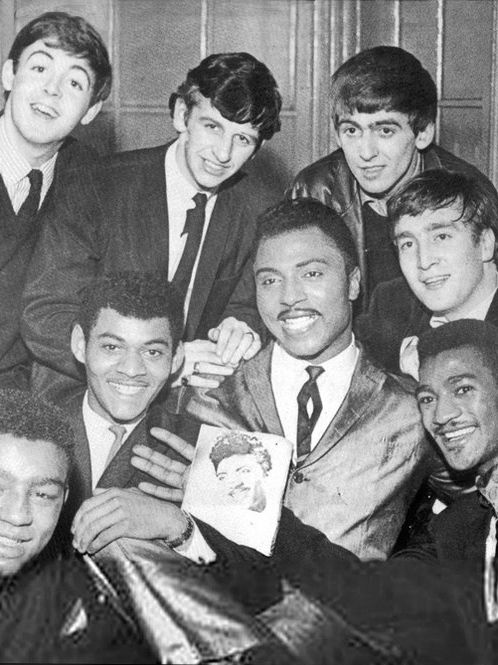 The Beatles With Little Richard 1962 With Images The Beatles