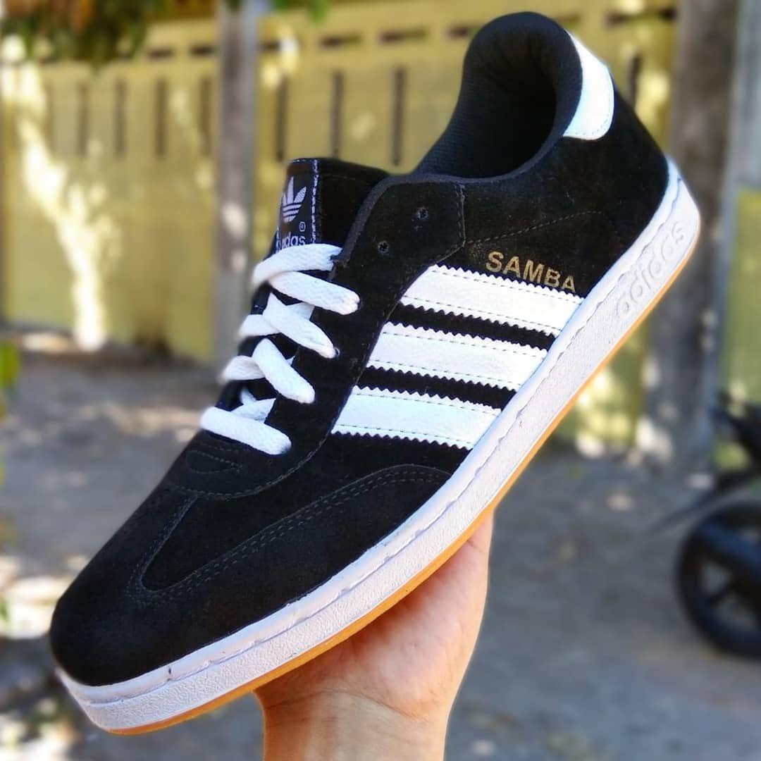 Adidas Samba Blackwhite Premium Quality Ukuran Cowok