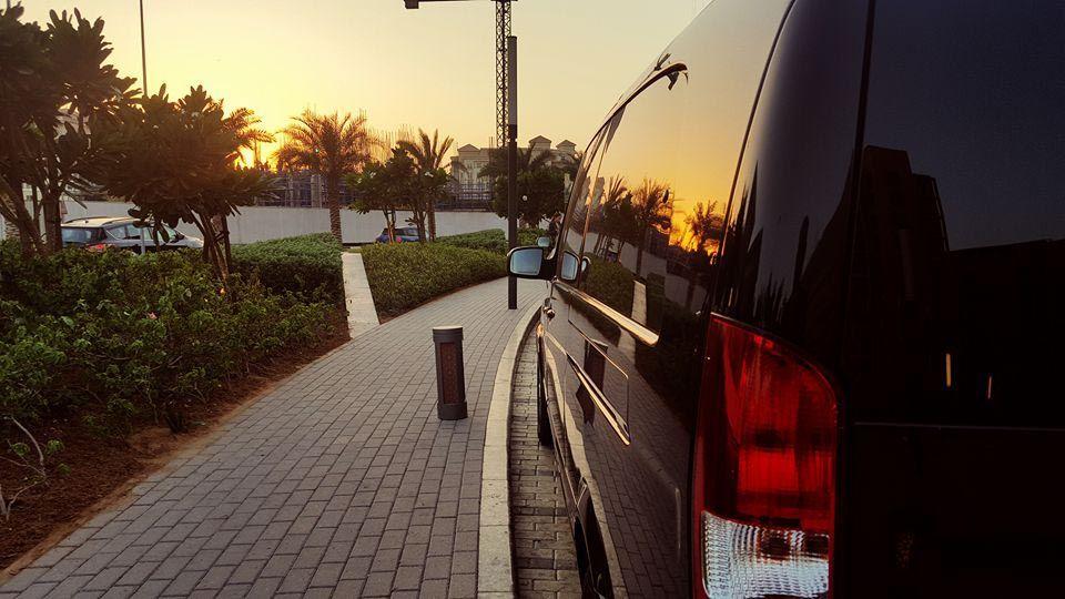 Rent A Van In Dubai With Driver Chauffeur Service In Dubai