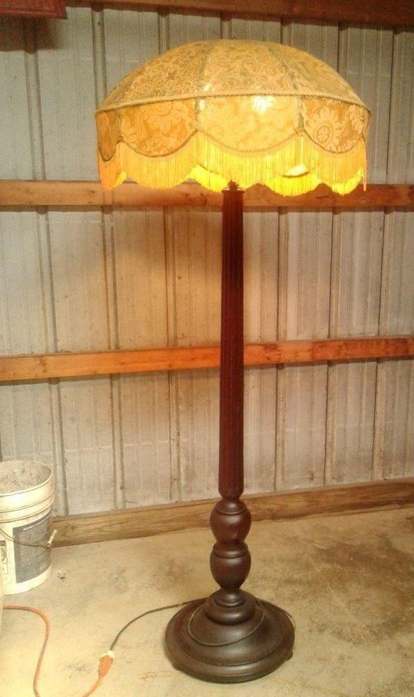Agree, Antique floor lamp column something is