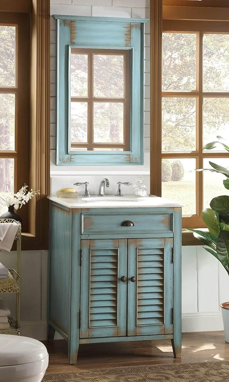 30 Wunderbare Landhausstil Badezimmer Ideen Fur Eine Charmante Und