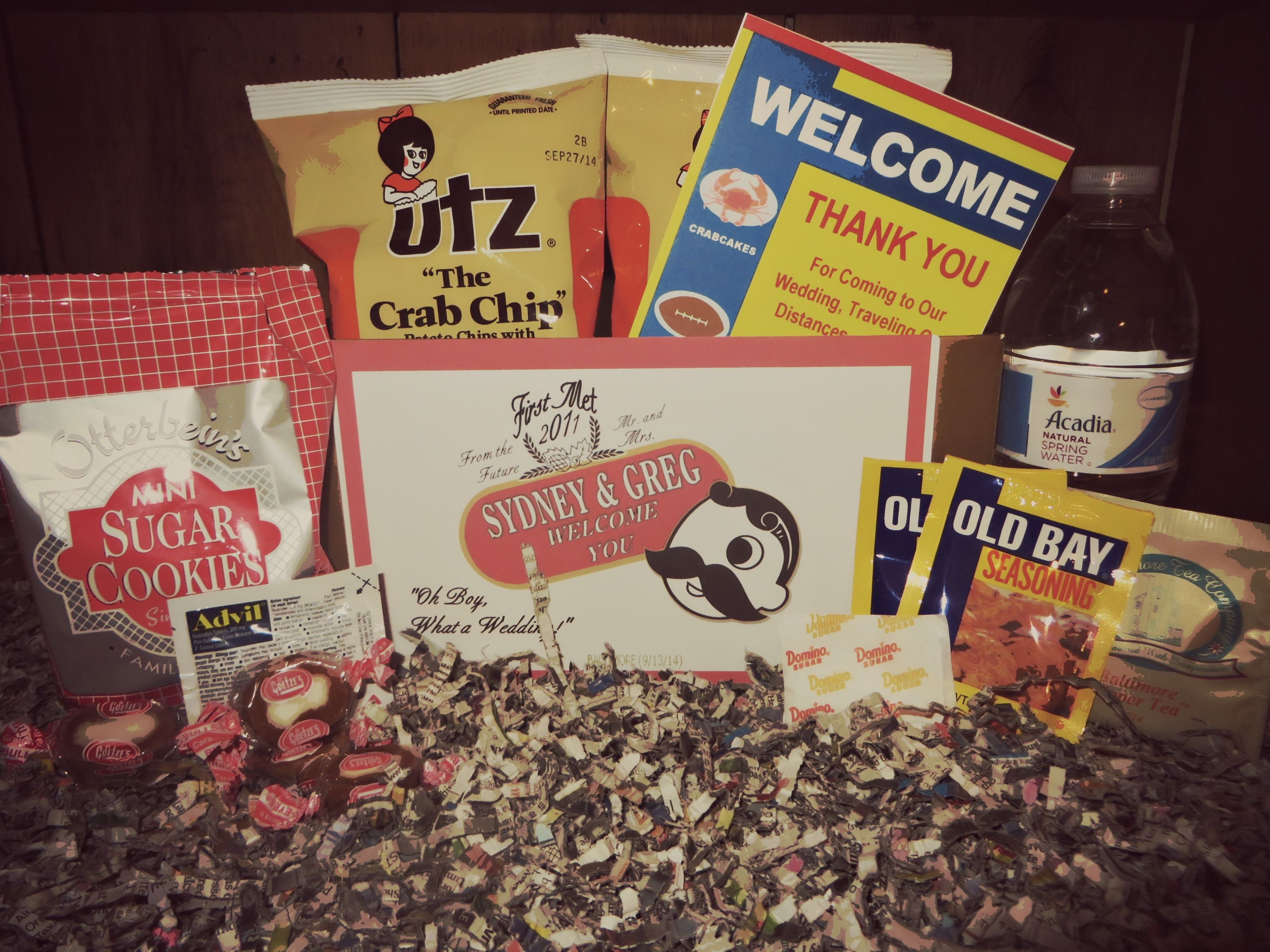 The ultimate Baltimore Maryland themed wedding gift! Love this ...