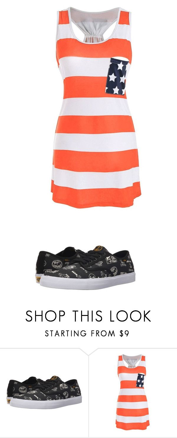 """Untitled #1353"" by laurie-egan on Polyvore featuring Vans"