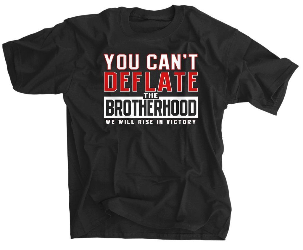 You Can 39 T Deflate The Brotherhood Shirt Atlanta Falcons