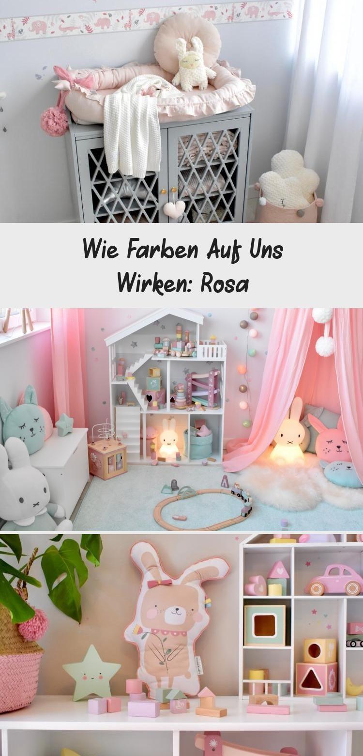 Wie Farben Auf Uns Wirken Rosa In 2020 Kinderzimmer Fur Madchen Teppich Rosa Ideen Furs Zimmer