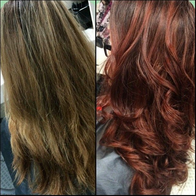 Before and after hair makeover using CHI Ionic 5W & 5CG on ...