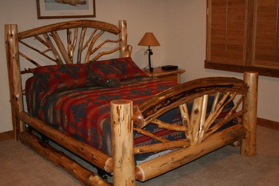 Bent Branch Bed Wagon Wheel Bed Twig Bed Twin Size Etsy In 2020 Rustic Bedroom Furniture Log Furniture Plans