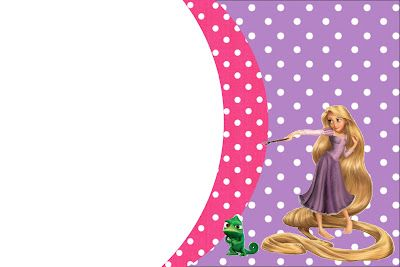 Tangled Rapunzel Free Printable Party Invitations