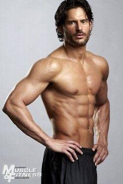 Joe Manganiello! perfect male specimen