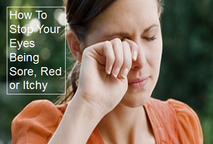 how to stop an itchy eye