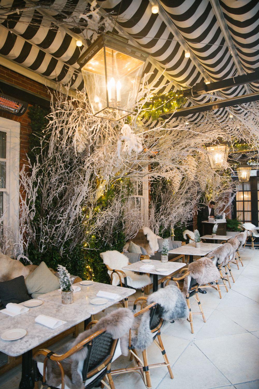 Winter Wonderland at Dalloway Terrace in London http://www.traveling ...