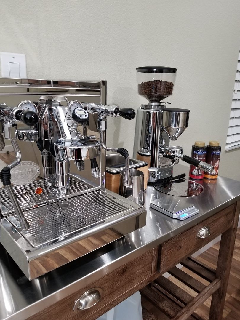 ECM Synchronika Espresso Machine With Flow Control in 2020