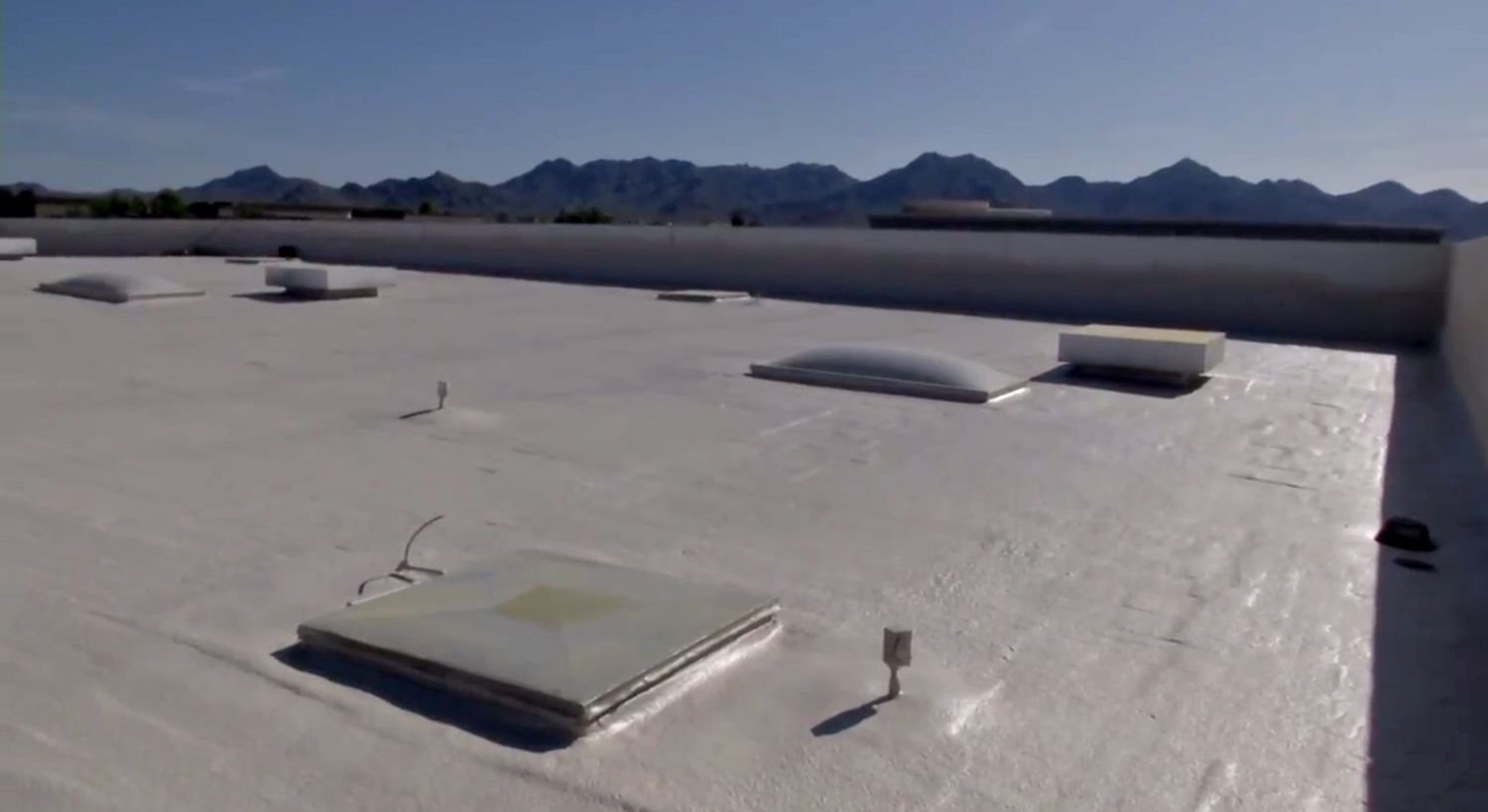Foam Roofing Benefits Why You Should Consider Foam For Your Flat Roof Foam Roofing Roofing House Interior
