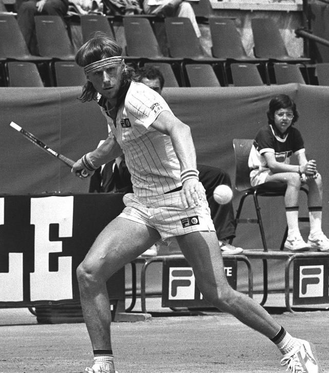 Bjorn Borg, 1976 (Ansa)