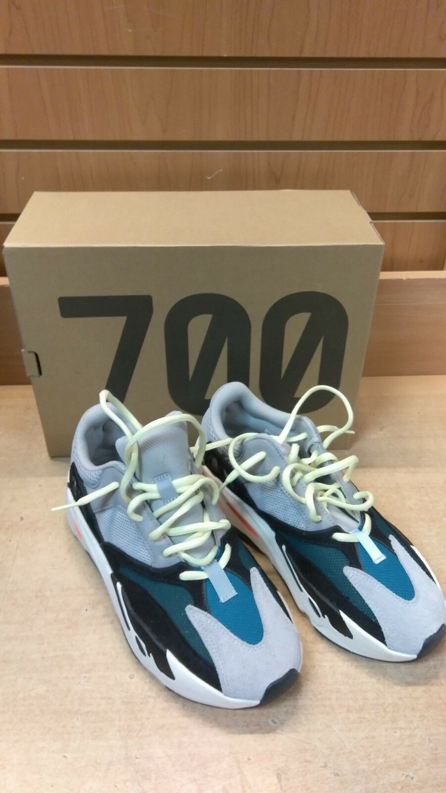 new arrival adba7 c07d4 Adidas Yeezy Boost 700 Originals Wave Runner B75571 Size 8