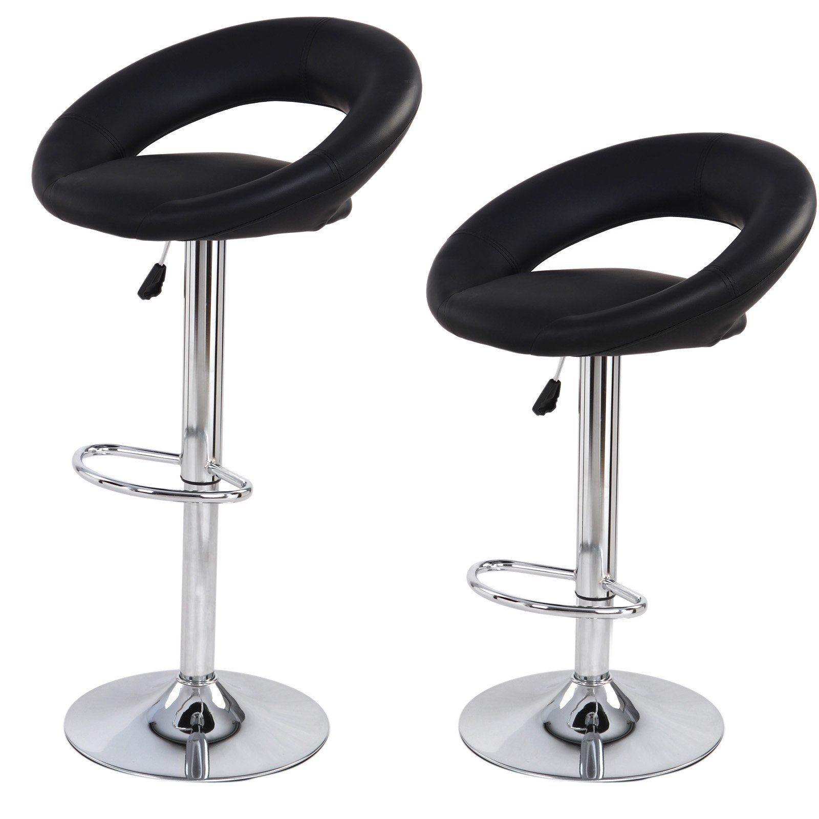 Songmics Lot De 2 Tabourets De Bar Stool Lot De 2 Tabourets De Bar Noir Grande Riviere Int Pinterest