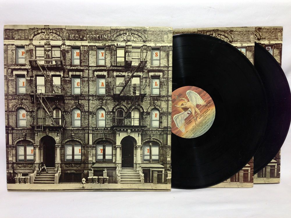 Led Zeppelin Physical Graffiti Vinyl Record Lp Swan Song