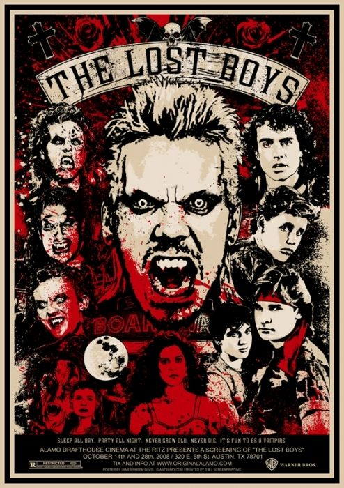 The Lost Boys Lost Boys Movie Horror Movie Posters Movies For Boys