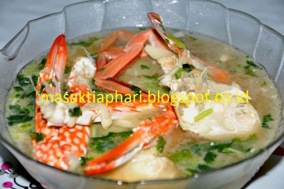 Resep Sup Kepiting Resep Sup Resep Makanan
