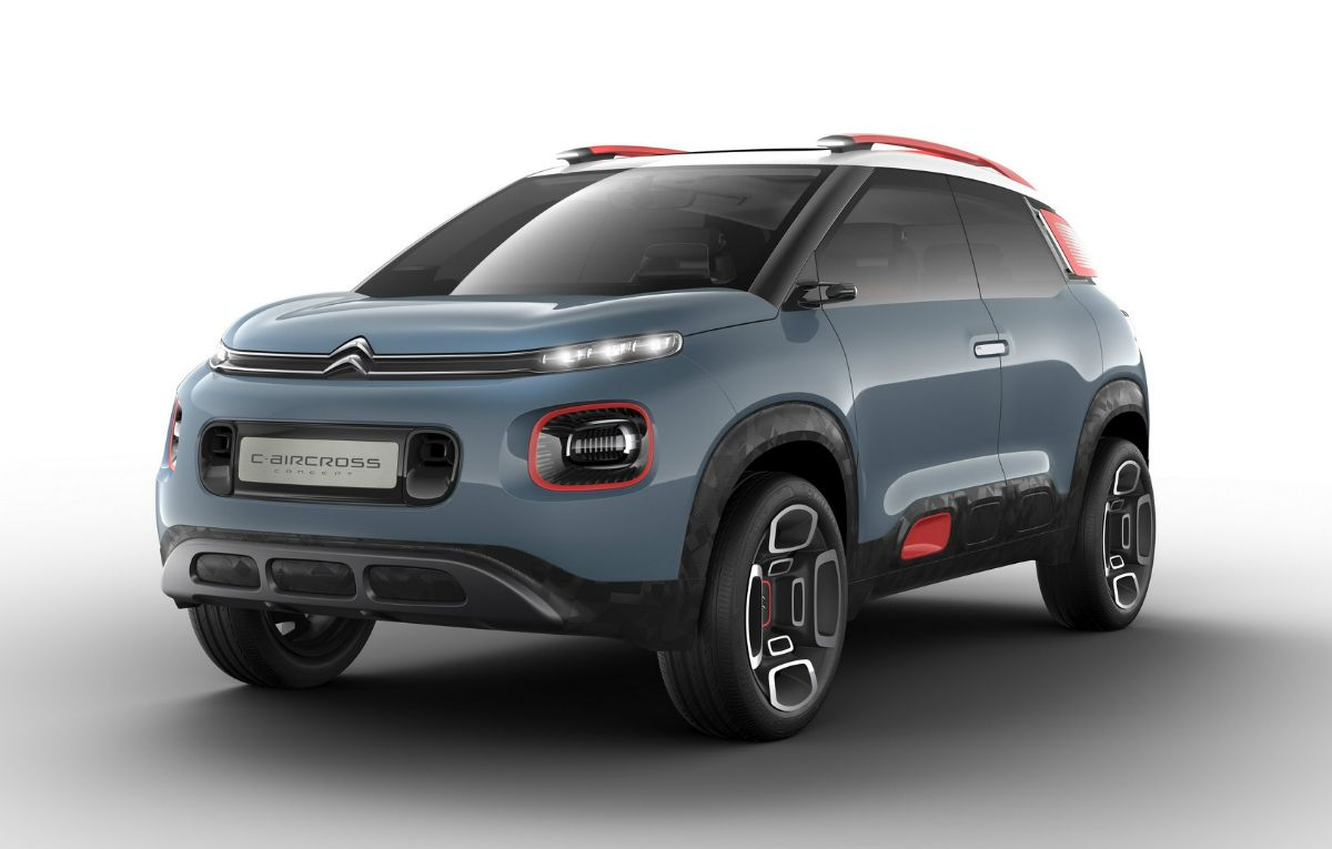 Citroen Is Planning To Arrive In Europe With Citroen C3 Aircross