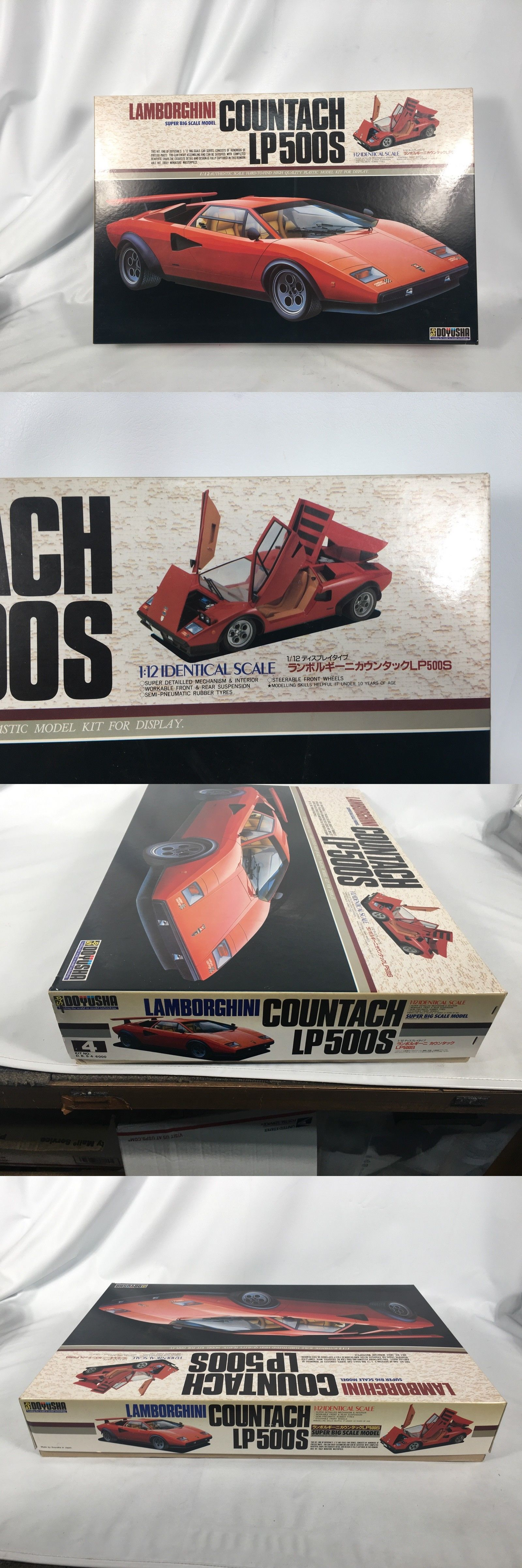 1 12 Scale 145972 Doyusha Lamborghini Countach 1 12 Scale Model Car