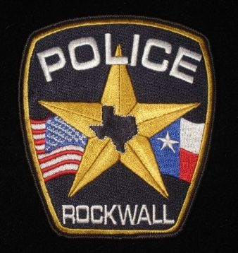 Rockwall Tx Pd Police Patches Texas Police Police Badge