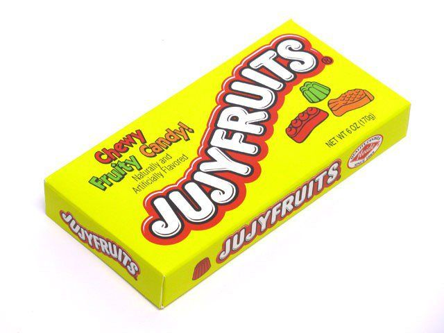 Jujyfruits 5 Oz Theater Box Vegan Halloween Candy Candy Vegan Halloween