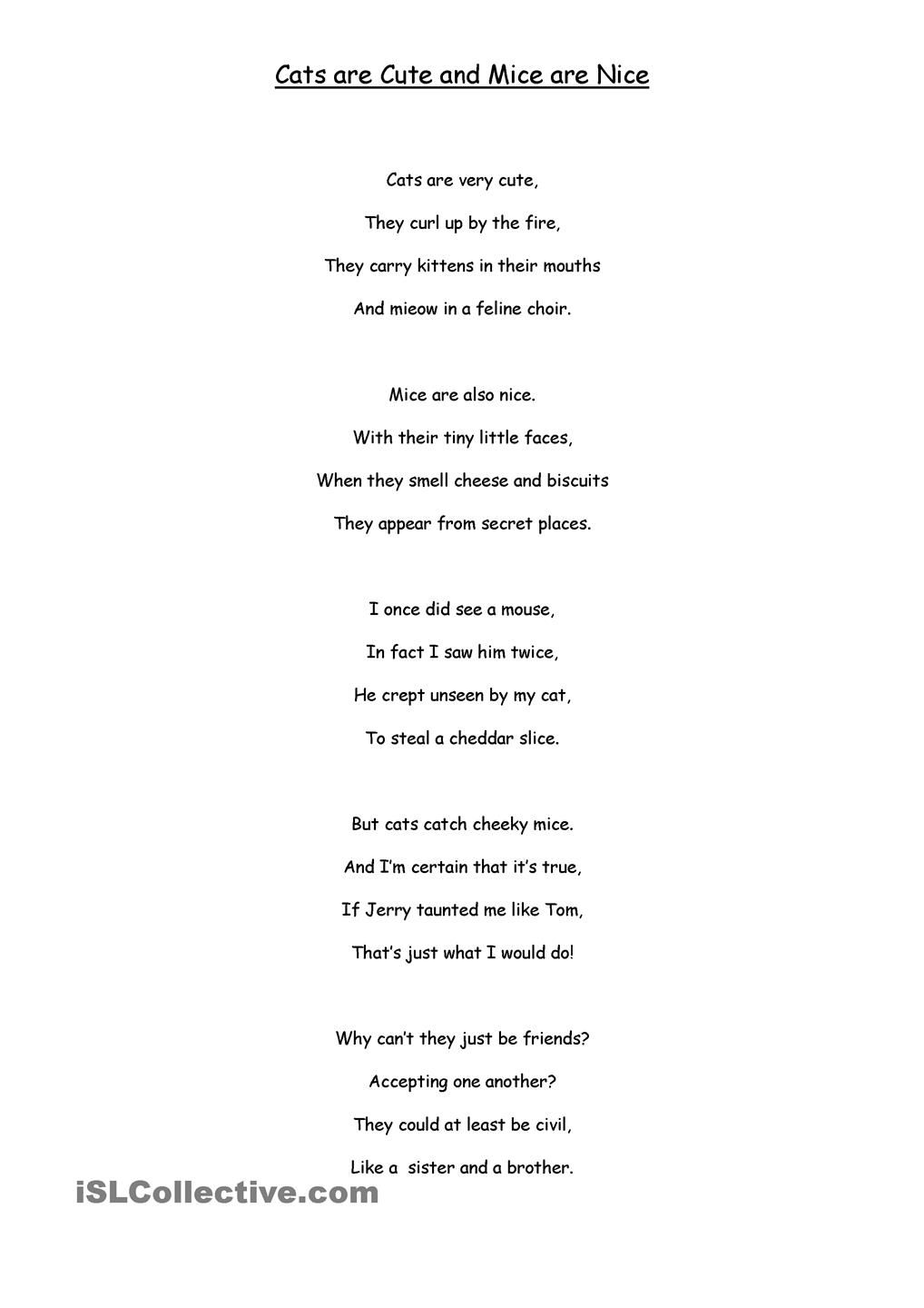 Workbooks poems worksheets : Hard and Soft c poems | teaching ideas. | Pinterest | Poem ...